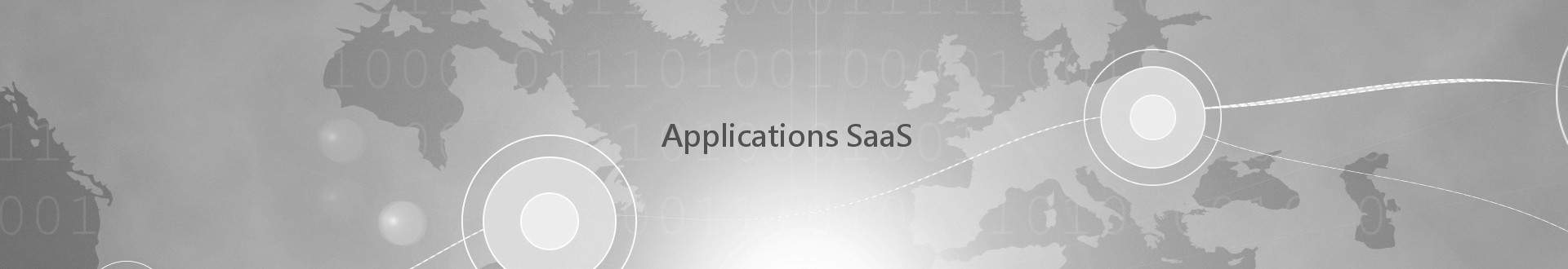 Développement d'applications Saas